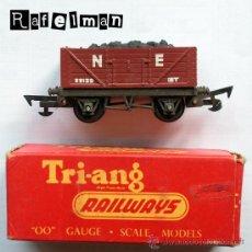 Trenes Escala: VAGON CON CARBON ESCALA HO - TRI ANG RAILWAYS - MADE IN ENGLAND ESCALA 00 - AÑOS 60. Lote 26488986