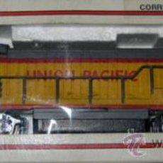 Trenes Escala: ANTIGUA LOCOMOTORA BACHMANN EN CAJA ORIGINAL - 64001 - HO 1/86 3 CARRILES - UNION PACIFIC ESTADOS UN. Lote 110480044