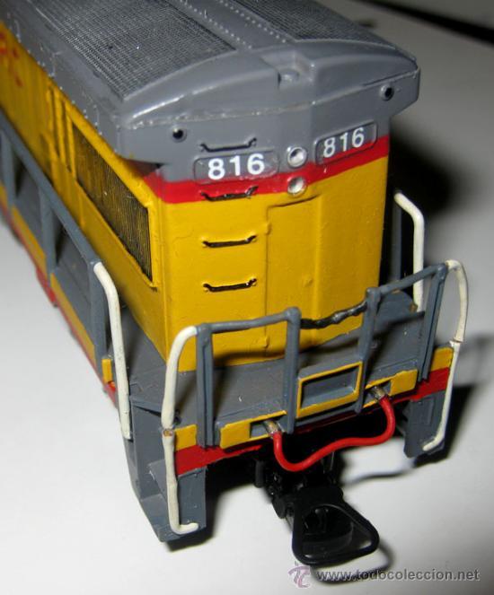 Trenes Escala: ANTIGUA LOCOMOTORA BACHMANN EN CAJA ORIGINAL - 64001 - HO 1/86 3 CARRILES - UNION PACIFIC ESTADOS UN - Foto 5 - 110480044