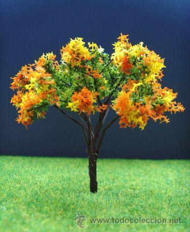 arbol con flores de colores verde amarillo comprar en
