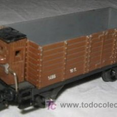 Trenes Escala: VAGON DE MERCANCÍAS ESCALA HO. Lote 23749250