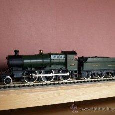 Trenes Escala: ANTIGUO TREN MAINLINE HO - LOCOMOTORA DE VAPOR 130 4300 5322 Y TENDER - GRAN BRETAÑA GREAT WESTERN R. Lote 25305342