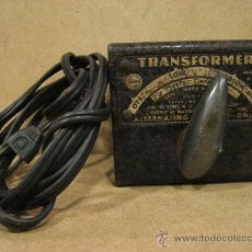 Trenes Escala: TRANSFORMADOR DE TREM. TRANSFORMER. MADE IN USA. MAR. METALICO. 9 X 10 X 7 CM. . Lote 23369061