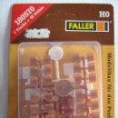 Trenes Escala: FALLER. MESAS Y SILLAS. HO. Lote 27283058