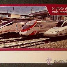 Trenes Escala: RENFE: LA FLOTA DE TRENES MÁS MODERNA DE EUROPA. Lote 35843348