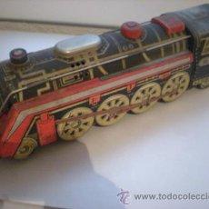 Trenes Escala: LOCOMOTORA HOJALATA. Lote 26131304
