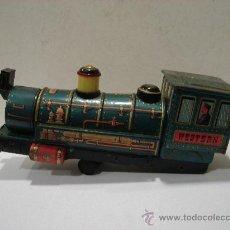 Trenes Escala: TREN DE HOJALATA. WESTERN.. Lote 24888557