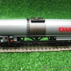 Trenes Escala: LILIPUT REF: 225 10-MODELLBAHN H0- VAGON DEMERCANCIAS OMV - . Lote 25099743