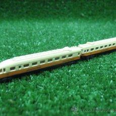 Trenes Escala: TREN ESTATICO-MAQUETA EN METAL-ESCALA 1:300.. Lote 27534361