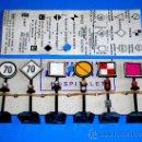 Trenes Escala: F-11 SEÑALES FERROVIARIAS PARA ELECTROTREN Y TRENES H0, BONALAMI HOSPITALET BARCELONA, AÑOS 50-60.. Lote 125237151
