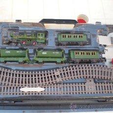 Trenes Escala: VIEJO TREN COMPLETO MARCA TOY TOWN DE LA CASA NEW RAY VER FOTOS MUY CHULO . Lote 28717932