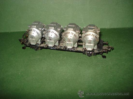 Trenes Escala: Antiguo Vagon Contenedor Silos de la DB en Escala *H0* de FLEISCHMANN . - Foto 2 - 27878866