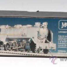 Trenes Escala: LOCOMOTORA MODEL LOCO KEYSER KITS RENFE MIKADO 141 F METAL NEGRA CON TENDER. Lote 28952214