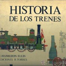 Trenes Escala: HISTORIA DE LOS TRENES -LA EPOPEYA DEL FERROCARRIL. Lote 29010368