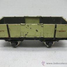Trenes Escala: VAGON DE MERCANCIAS ABIERTO TVV4007 -ESCALA 0-. Lote 29623080