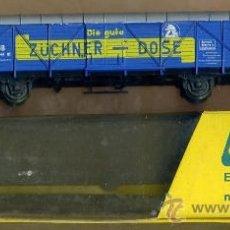 Trenes Escala: VAGON ALEMANIA - DB / ZUCHNER-DOSE - LILIPUT 244 - TREN FERROCARRIL. Lote 29633401