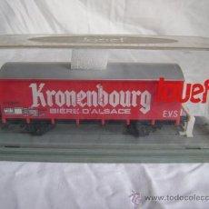 Trenes Escala: JOUEF 628100 -VAGON CERVECERO KRONENBOURG -ESC H0-. Lote 29934433