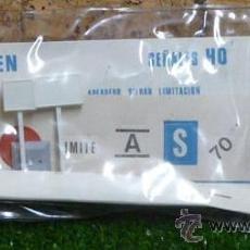 Trenes Escala: PAQUETE SEÑALES HO - PERMA TREN REF.904. Lote 30055331