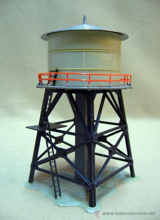 Complemento trenes tren escala h0 torre de ag comprar for Como hacer un tanque de agua para rustico