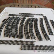 Trenes Escala: VIAS DE TREN HO JOUEF LAS DE LA FOTO. Lote 32213430