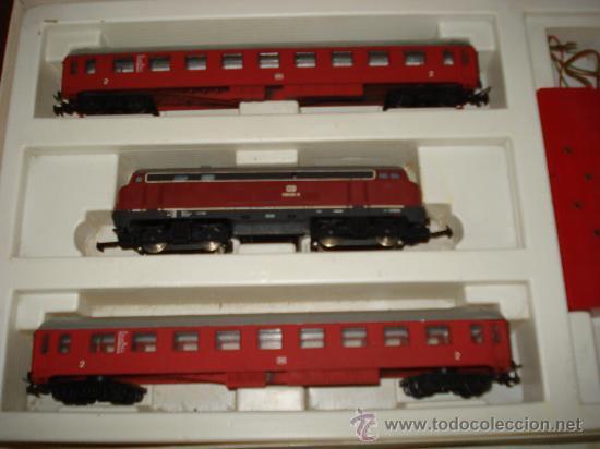 Trenes Escala: Antigua Caja Set con Tren en Escala *H0* de TEMPO . Año 1970s - Foto 3 - 32247300