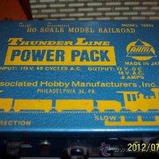 Trenes Escala: TRANSFORMADOR PARA TRENES EN ESCALA H0. Lote 32561102