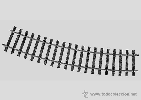MARKLIN ESCALA 1 REF 5935 R1020MM 22º30´ VIA CURVA NUEVA SPUR1 (Juguetes - Trenes - Varios)