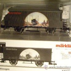 Trenes Escala: MARKLIN ESCALA 1 VAGON MERCANCIAS KUHLWAGEN GARITA GUARDAFRENOS REF 58079 NUEVO SERIE EXCLUSIV SPUR1. Lote 33340244