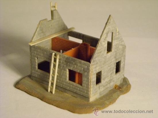 Trenes Escala: maqueta casa en construccion escala h0 1/87 - Foto 3 - 33508376