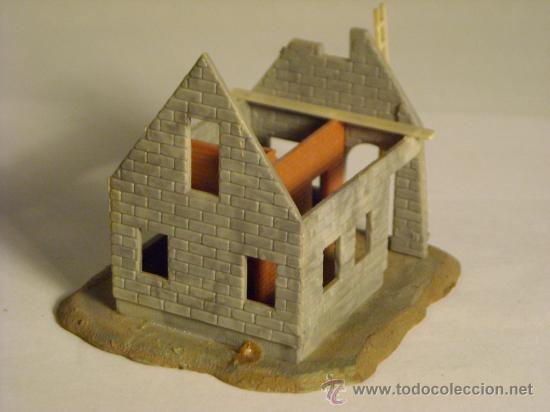 Trenes Escala: maqueta casa en construccion escala h0 1/87 - Foto 4 - 33508376