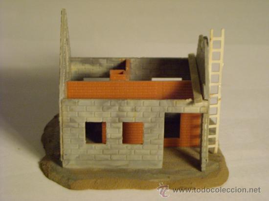 Trenes Escala: maqueta casa en construccion escala h0 1/87 - Foto 5 - 33508376