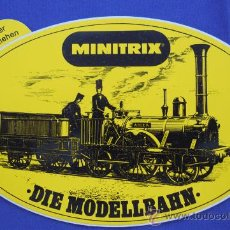 Trenes Escala: PEGATINA MINITRIX. Lote 33531461