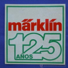 Trenes Escala: PEGATINA MARKLIN. Lote 33531488