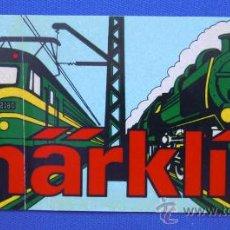 Trenes Escala: PEGATINA MARKLIN. Lote 33531541