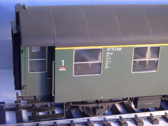 Trenes Escala: marklin escala 1 ref 5810 coche pasajeros 1ª y 2ª clase de la DB vagon 3 ejes Spur1 - Foto 2 - 33526470