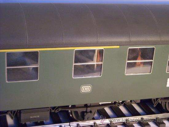 Trenes Escala: marklin escala 1 ref 5810 coche pasajeros 1ª y 2ª clase de la DB vagon 3 ejes Spur1 - Foto 3 - 33526470