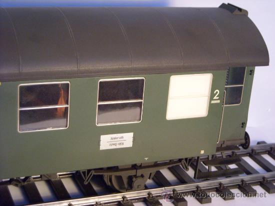 Trenes Escala: marklin escala 1 ref 5810 coche pasajeros 1ª y 2ª clase de la DB vagon 3 ejes Spur1 - Foto 4 - 33526470