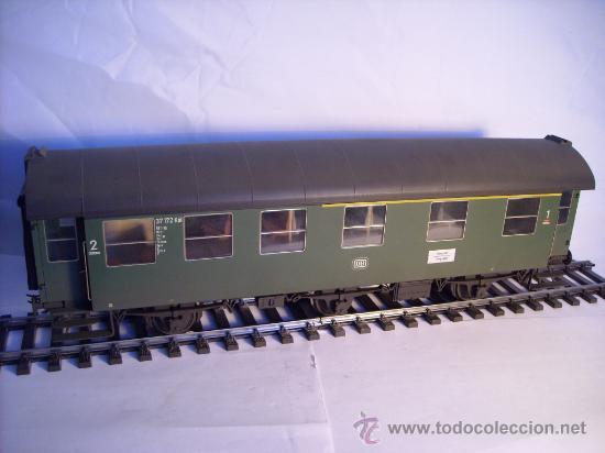 Trenes Escala: marklin escala 1 ref 5810 coche pasajeros 1ª y 2ª clase de la DB vagon 3 ejes Spur1 - Foto 7 - 33526470