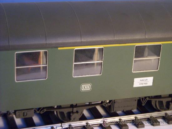 Trenes Escala: marklin escala 1 ref 5810 coche pasajeros 1ª y 2ª clase de la DB vagon 3 ejes Spur1 - Foto 9 - 33526470