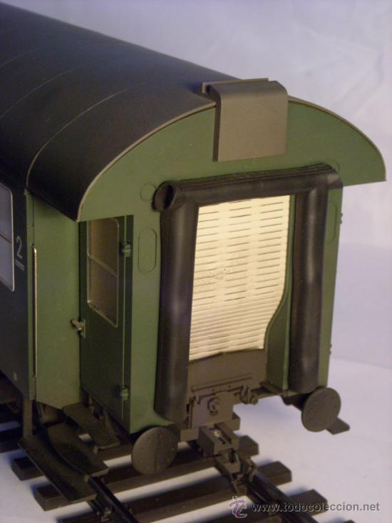 Trenes Escala: marklin escala 1 ref 5810 coche pasajeros 1ª y 2ª clase de la DB vagon 3 ejes Spur1 - Foto 11 - 33526470