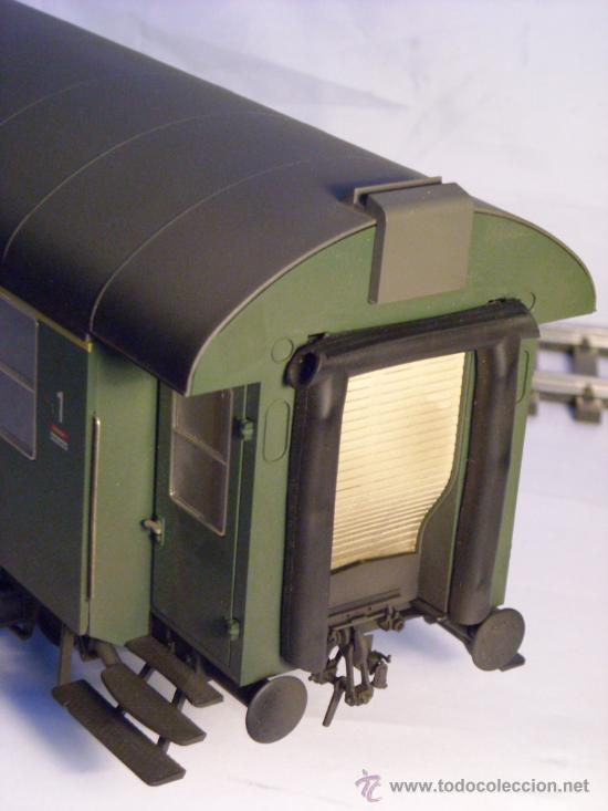 Trenes Escala: marklin escala 1 ref 5810 coche pasajeros 1ª y 2ª clase de la DB vagon 3 ejes Spur1 - Foto 5 - 33526470
