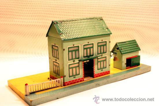 Trenes Escala: ESTACION DE TREN PAYA CON LUZ INTERIOR - Foto 4 - 33610533