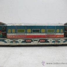 Trenes Escala: GORGO EXPRESS 20271-LOCOMOTORA LITOGRAFIADA. Lote 34093243