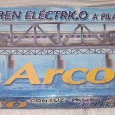 Trenes Escala: TREN ARCO,PEQUETREN,CAJA ORIGINAL,FUNCIONANDO,A PILAS. Lote 34151439