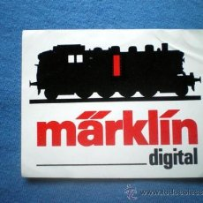 Trenes Escala: PEGATINA TRENES MARKLIN DIGITAL. Lote 34511133