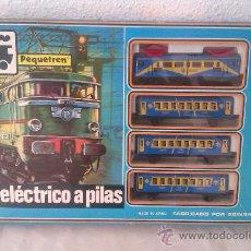 Trenes Escala: TREN A PILAS DE LA CASA SEINSA FABRICACION ESPAÑOLA. Lote 34758701