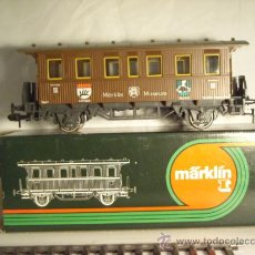 Trenes Escala: MARKLIN ESCALA 1 REF 85802 COCHE PASAJEROS MUSEO 1988 VAGON SPUR1 NUEVO. Lote 34954751