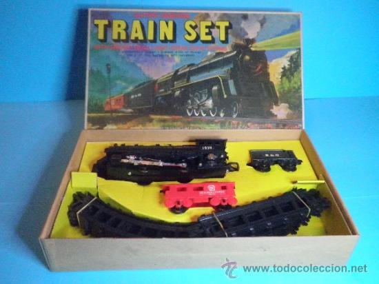 TREN ELECTRICO A PILAS - TRAIN SET (Juguetes - Trenes - Varios)