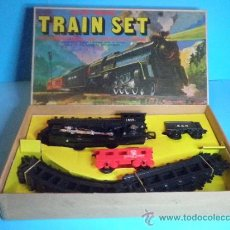 Trenes Escala: TREN ELECTRICO A PILAS - TRAIN SET. Lote 35553658