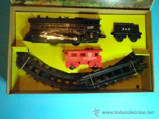 Trenes Escala: TREN ELECTRICO A PILAS - TRAIN SET - Foto 2 - 35553658